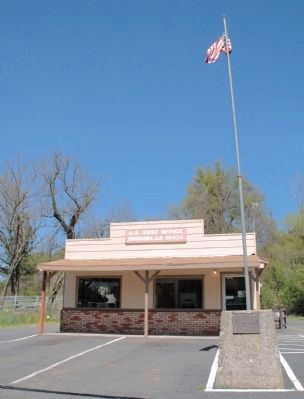 Dobbins Post Office and Marker image. Click for full size.