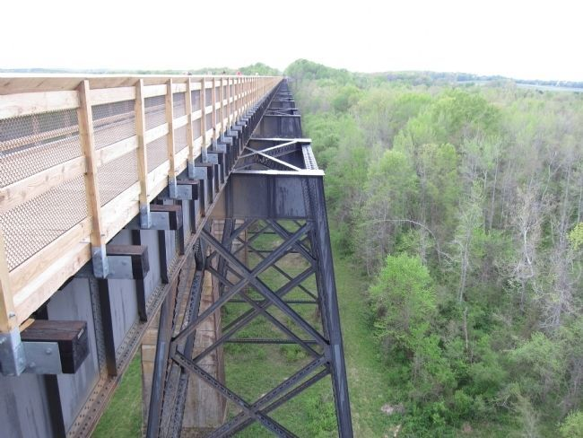 High Bridge Trusses - after the Bridge Reopened image. Click for full size.