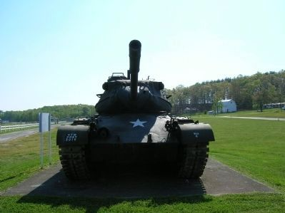 90 MM Gun Tank M47 Patton Photo, Click for full size