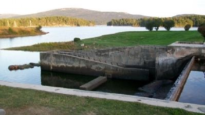 Somes Pond Fishway and Dam Leading to Somes Sound image. Click for full size.