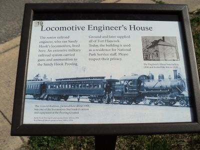 Locomotive Engineer's House Marker image. Click for full size.