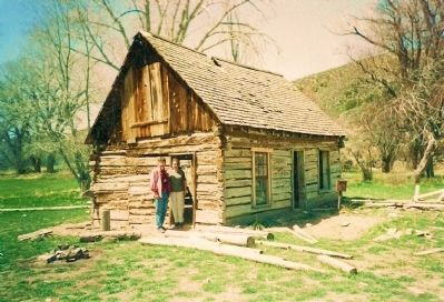 Circle Valley Homestead of Butch Cassidy, his Parents, and Siblings Photo, Click for full size