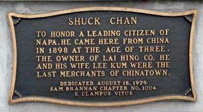 Shuck Chan Marker image. Click for full size.