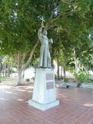 Father Junipero Serra 1713-1784 Markers and Statue image. Click for full size.
