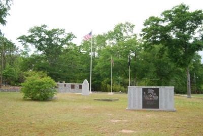 Elbert County&#39;s Dead in the Civil War Marker<br>and Memorial Park image. Click for full size.