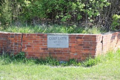 Civil War Camp Latty Marker Photo, Click for full size