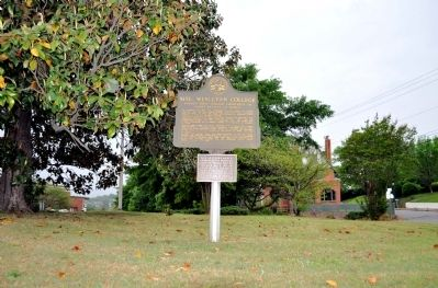 Site: Wesleyan College Marker image. Click for full size.