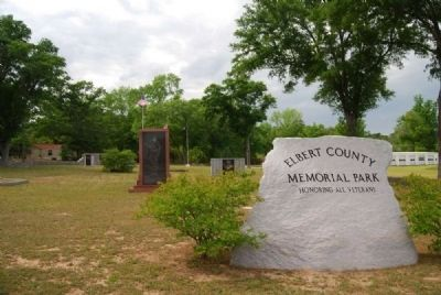 Elbert County Memorial Park Photo, Click for full size