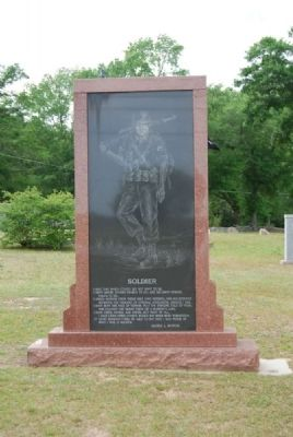 Soldier Monument - Front image. Click for full size.
