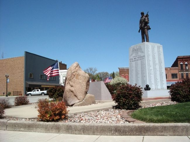 Profile View - - Blackford County Revolutionary War Heroes Marker Photo, Click for full size