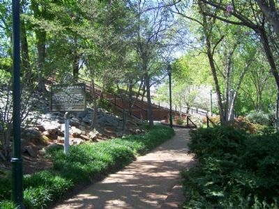 William Bartram Trail Marker along the Riverwalk image. Click for full size.