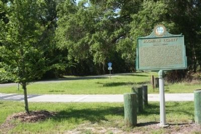 Rochelle Vicinity Marker along County Road 234 image. Click for full size.