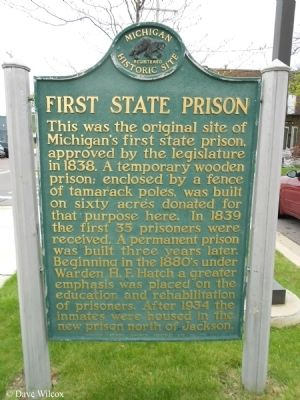 First State Prison Marker image. Click for full size.