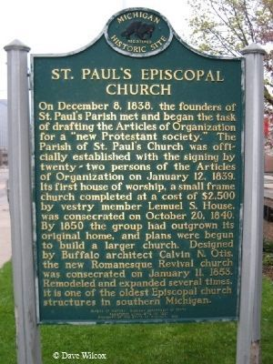 St. Paul's Episcopal Church Marker Photo, Click for full size