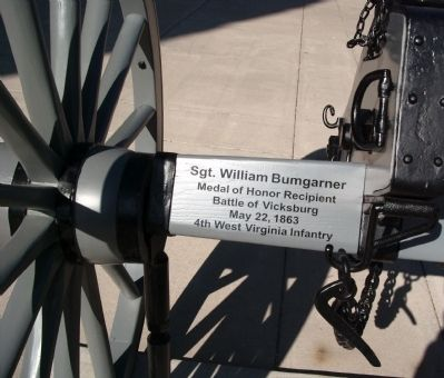 Left - - The Wells County 1862 Cannon Photo, Click for full size