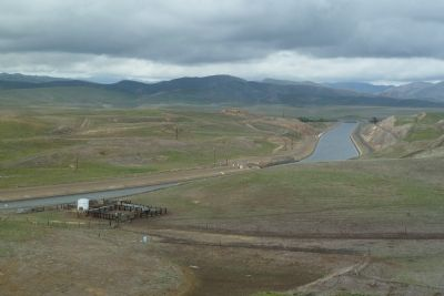 View N, The California Aqueduct image. Click for full size.