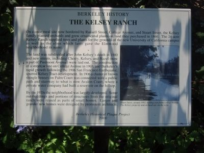 The Kelsey Ranch Marker image. Click for full size.