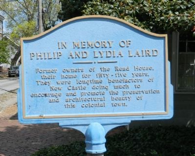 In Memory of Philip and Lydia Laird Marker image. Click for full size.