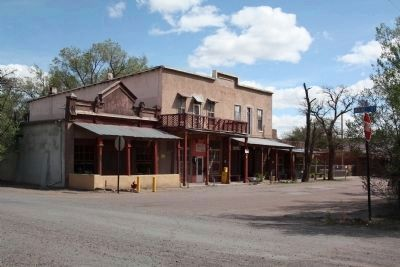 First Street, Cerrillos, New Mexico image. Click for full size.