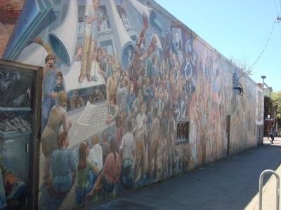 "The ""A People's History of Telegraph Avenue"" Mural image. Click for full size."