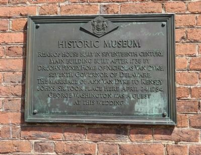 Historic Museum Marker image. Click for full size.