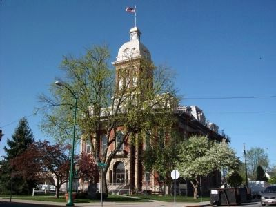 Adams County Courthouse - - - Decatur, Indiana image. Click for full size.