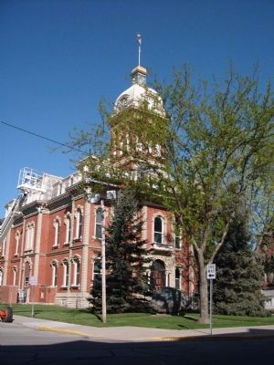 Other View - - Adams County Courthouse - - - Decatur, Indiana image. Click for full size.