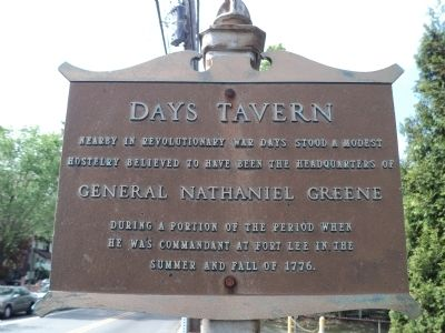 Days Tavern Marker image. Click for full size.