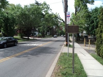 Marker on Grand Avenue image. Click for full size.