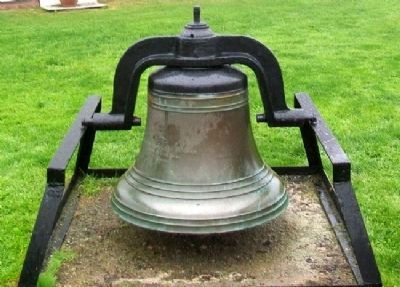 West Quoddy Head Lighthouse Bell image. Click for full size.