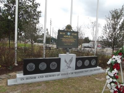 Wagener Memorial Monument Marker image. Click for full size.