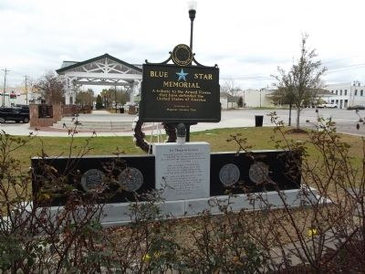 Wagener Memorial Monument Marker Reverse image. Click for full size.