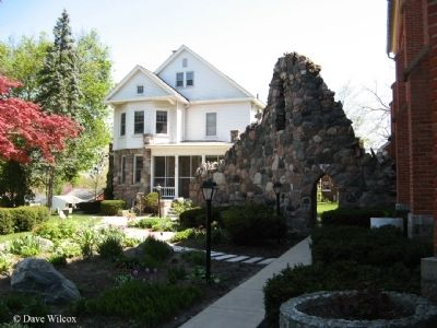 St. Joseph Catholic Church Rectory and Grotto image. Click for full size.