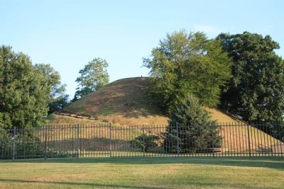 Grave Creek Mound image. Click for full size.
