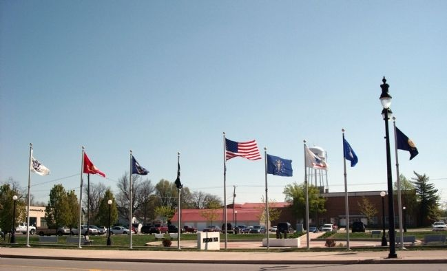 """Freedom Park"" - - Flags image. Click for full size."
