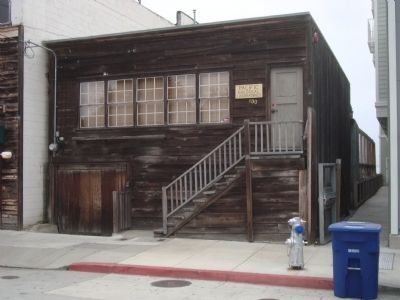 Ed Ricketts' Lab on Cannery Row image. Click for full size.