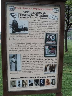 Willat/Fox & Triangle Studios Marker image. Click for full size.