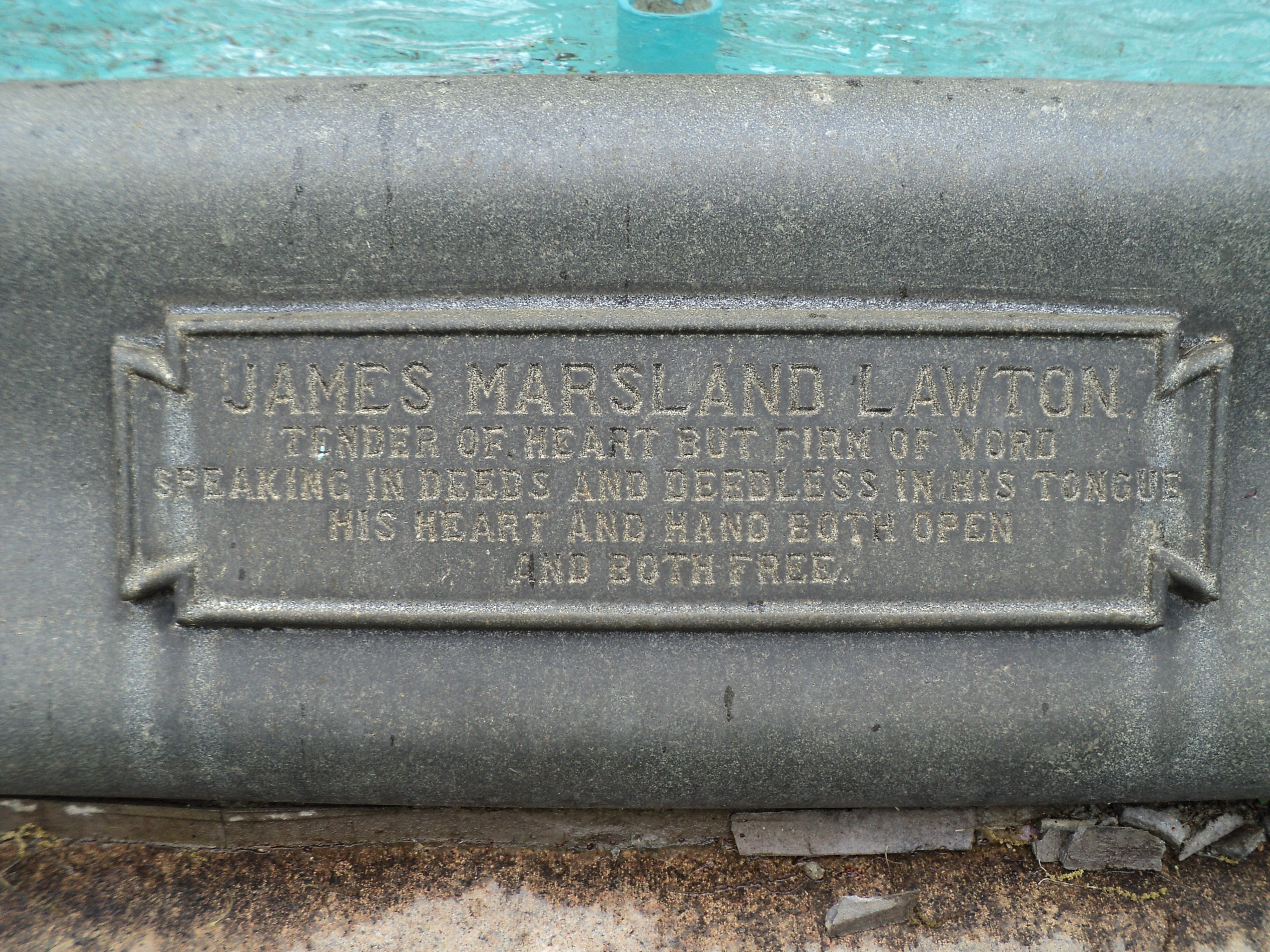 James Marsland Lawton Marker