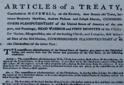 Conditions of the Treaty image. Click for full size.