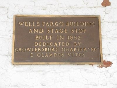 Wells Fargo Building Marker image. Click for full size.