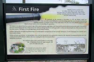 First Fire Marker image. Click for full size.