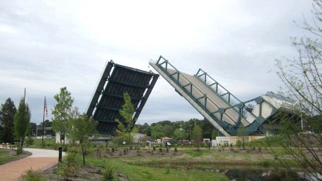 Modern Drawbridge at Great Bridge image. Click for full size.
