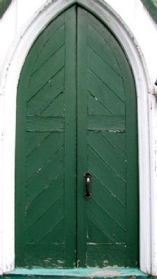 St. Anne's Anglican Church Door image. Click for full size.