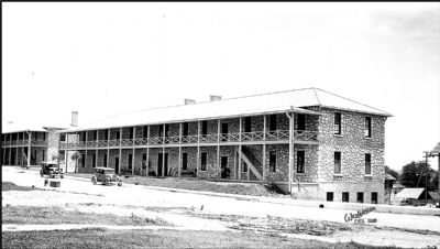 Historic view of the New Cavalry Barracks shortly after completion image. Click for full size.