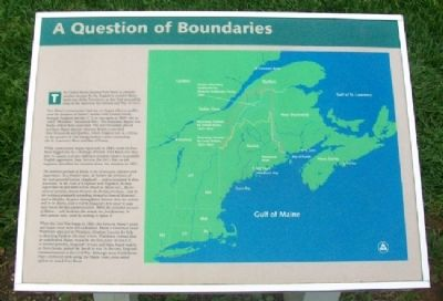 A Question of Boundaries Marker image. Click for full size.