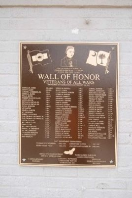 Wall of Honor 2012 Plaque image. Click for full size.
