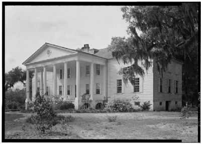 Hampton Plantation Historic American Engineering Record image. Click for full size.