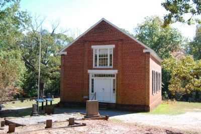 Old Pickens Presbyterian Church<br>Front (Northwest) Side image. Click for full size.