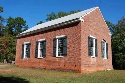 Old Pickens Presbyterian Church<br>Northeast Side image. Click for full size.