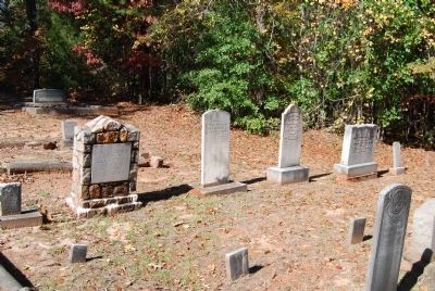 Old Pickens Presbyterian Church Cemetery image. Click for full size.